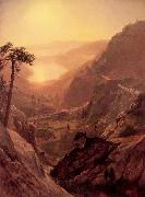 View of Donner Lake, California Bierstadt