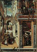 Annunciation with Saint Emidius Carlo Crivelli