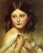 A Young Girl called Princess Charlotte Franz Xaver Winterhalter