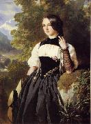 A Swiss Girl from Interlaken Franz Xaver Winterhalter
