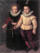 Double Portrait of a Brother and Sister sg KETEL, Cornelis
