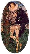 Young Man Leaning Against a Tree Nicholas Hilliard