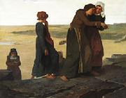 The Widow or Teh Fisherman's Family Evariste Vital Luminais