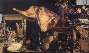 Vanitas still-life in the background Christ in the House of Mary and Martha Pieter Aertsen