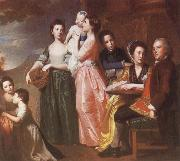 THe Leigh Family George Romney