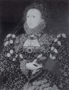 The phoenix portrait of Queen Elizabeth Nicholas Hilliard