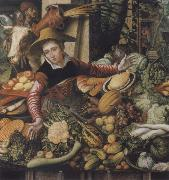 Museums national market woman at the Gemusestand Pieter Aertsen