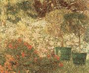 A Corner of my Garden Emile Claus