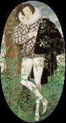 a youth among roses Nicholas Hilliard