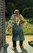 The Old Gardener Emile Claus