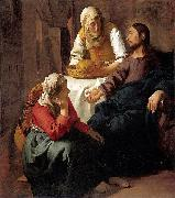 Christ in the House of Martha and Mary Johannes Vermeer
