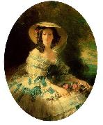 Eugenie of Montijo, Empress of France Franz Xaver Winterhalter