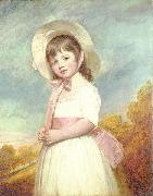 Portrait of Miss Willoughby George Romney