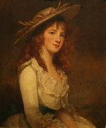 Portrait of Miss Constable George Romney