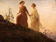 Poem of the Soul  On the mountain Louis Janmot