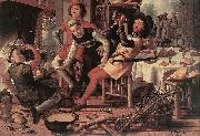 Peasants by the Hearth Pieter Aertsen