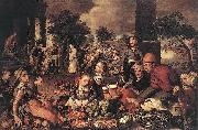 Christ and the Adulteress Pieter Aertsen