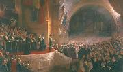 Opening of the First Parliament of the Commonwealth of Australia by H.R.H. The Duke of Cornwall and York Tom roberts