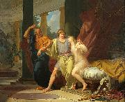 Socrates Tears Alcibiades from the Embrace of Sensual Pleasure Baron Jean-Baptiste Regnault