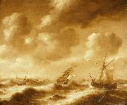 Shipping in a Gale Hendrick van Anthonissen