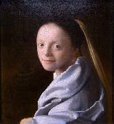 Study of a young woman Johannes Vermeer