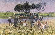 The Picknick Emile Claus