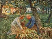 Orchard in Flanders Emile Claus