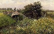 A Meeting on the Bridge Emile Claus