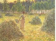 Hay stacks Emile Claus