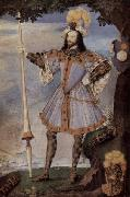 Portrat des George Clifford, Earl of Cumberland Nicholas Hilliard