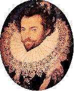 Portrait of Sir Walter Raleigh Nicholas Hilliard
