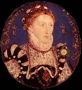 Portrait MIniature of Elizabeth I Nicholas Hilliard