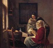 Girl interrupted at her music Johannes Vermeer
