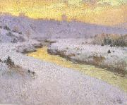 Stream in Winter (nn02) marc-aurele de foy suzor-cote