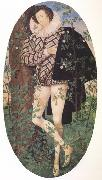 Young Man Leaning Against a Tree (nn03) Nicholas Hilliard