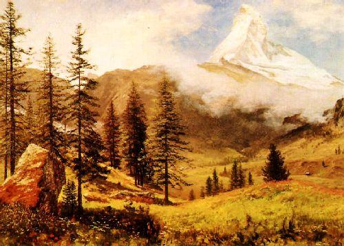 Albert Bierstadt The Matterhorn