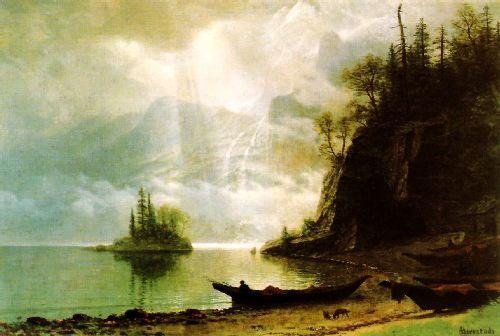 Albert Bierstadt The Island