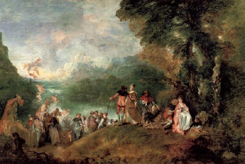 albert bierstadt museum pilgrimage to the island of