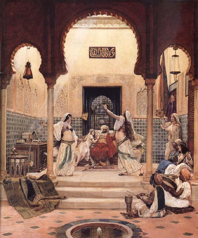 Paul-Louis Bouchard The Egyptian Dancing Girls