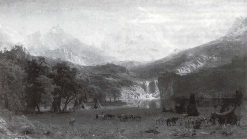 Albert Bierstadt Die Rocke Mountains