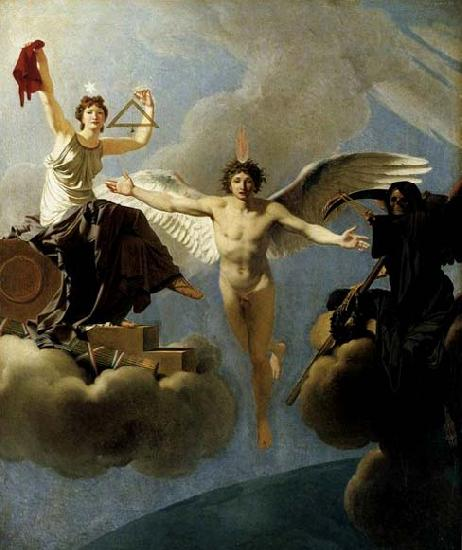 Baron Jean-Baptiste Regnault The Genius of France between Liberty and Death