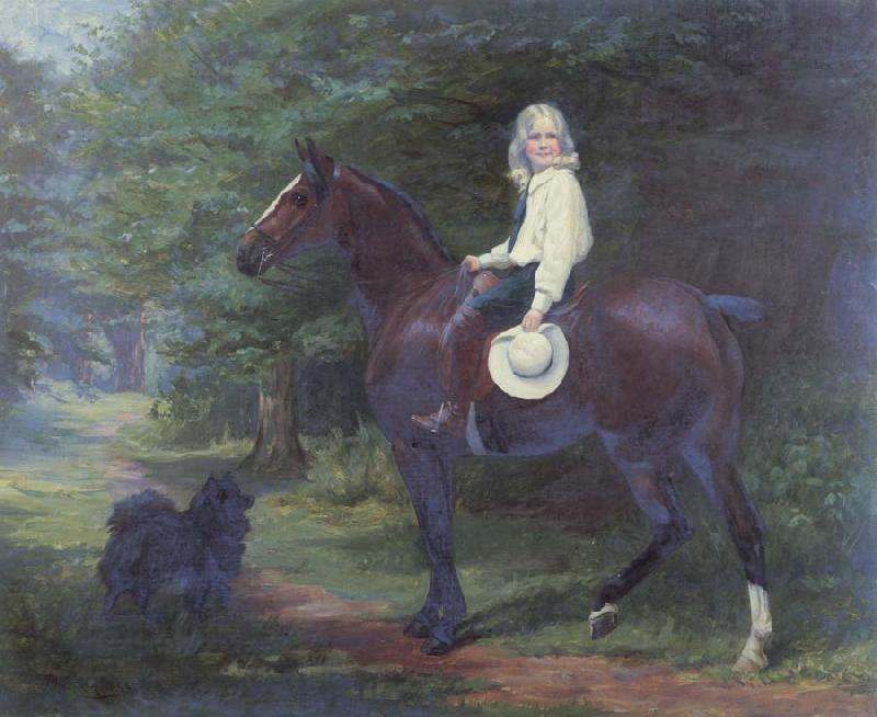 Margaret Collyer Oil undated here Favourite Pets