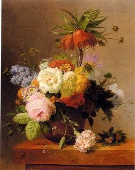 unknow artist Floral, beautiful classical still life of flowers.110