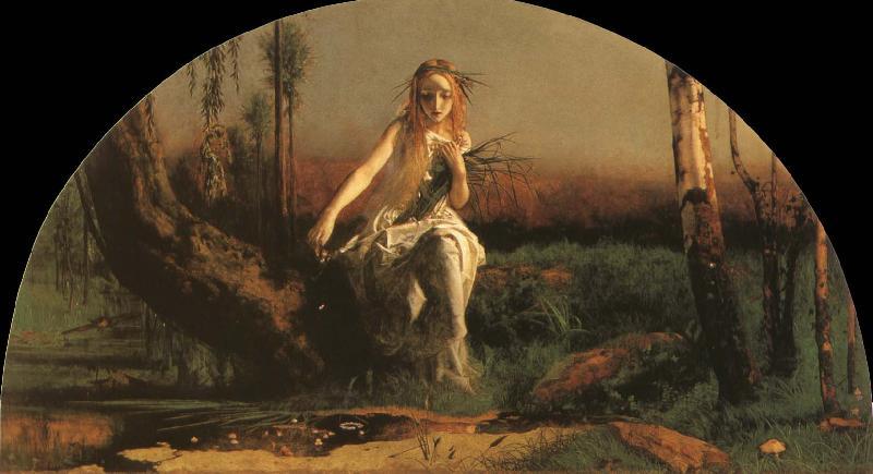 a study of arthur hughes ophelia