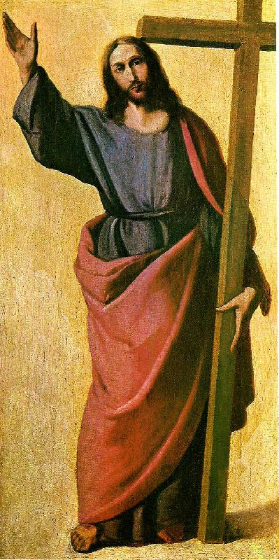 Francisco de Zurbaran christ blessing