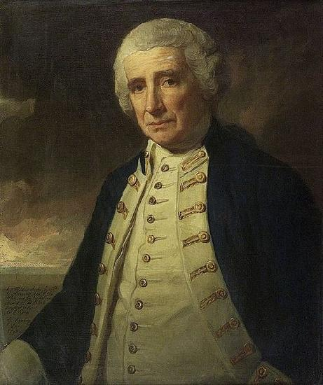 George Romney Portrait of John Forbes