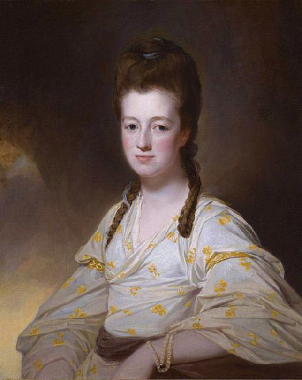 George Romney Portrait of Dorothy Cavendish