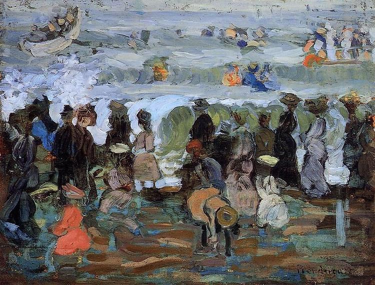 Maurice Prendergast After the Storm