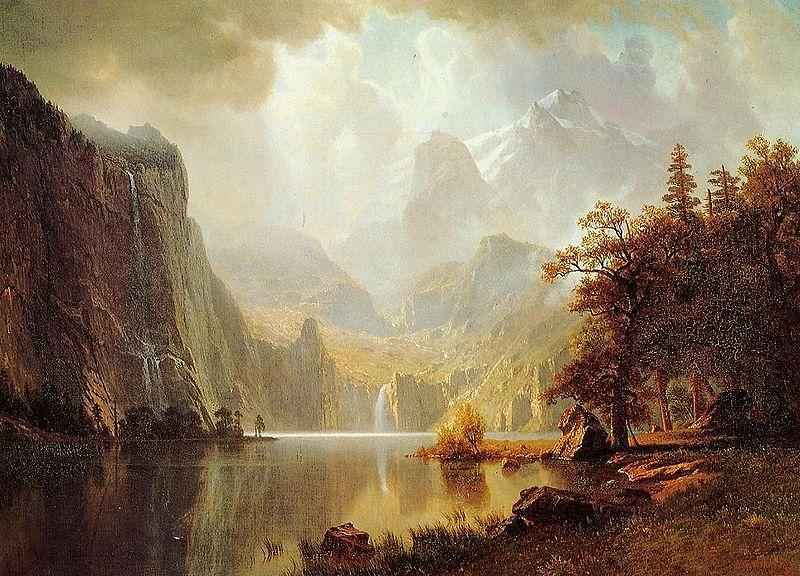 Albert Bierstadt In_the_Mountains