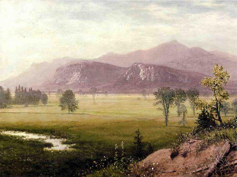 Albert Bierstadt Albert Bierstadt Conway Meadows New Hampshire